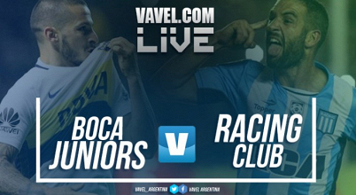 Boca vs Racing EN VIVO por la Superliga (1-2)
