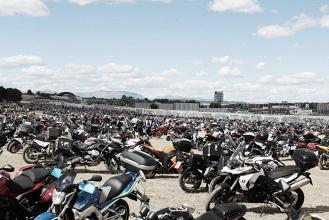 Madrid se llena de motos por Ángel Nieto