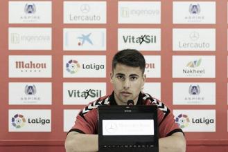 """Ángel Bastos: """"A la afición no hay que decirle nada, saben de la importancia del partido"""""""