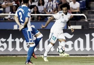"""Marcelo: """"Hemos hecho un gran partido con y sin balón"""""""