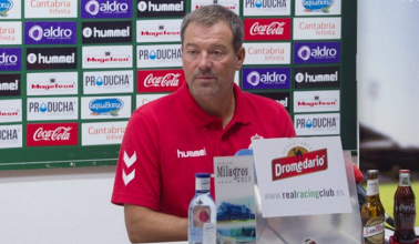 """Ángel Viadero: """"Tenemos que tener la inciativa y el control del partido"""""""