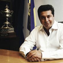 Daniel Angelici habló sobre el tema Wilmar Barrios