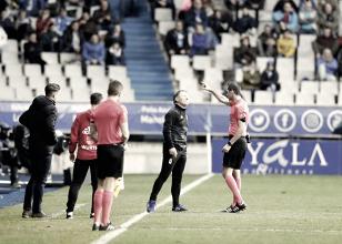 Un cúmulo de circunstancias adversas truncan una victoria del Real Oviedo