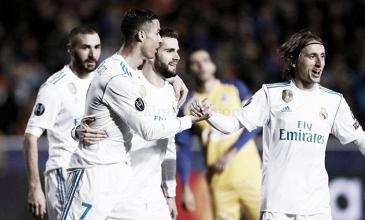 El Real Madrid igualó un registro goleador de 1978