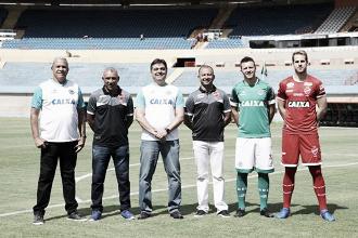 Goiás e Vila Nova formalizam aposta de público em seus respectivos jogos na Copa do Brasil