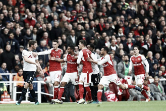 Resumen del Arsenal vs Tottenham en Premier League 2017 (2-0)