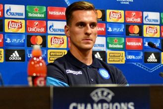 """Champions League - Napoli, la carica di Milik: """"Mi sento al 100%. Faremo di tutto per vincere"""""""