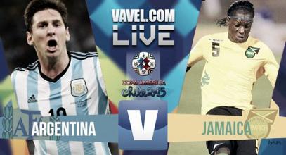 Diretta live Argentina - Giamaica
