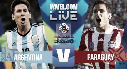 Diretta live Argentina - Paraguay, Copa America 2015