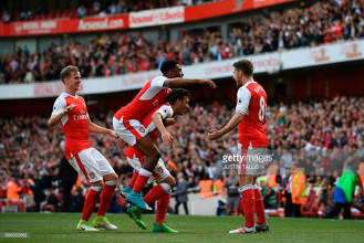 Arsenal 3-1 Everton: Gunners miss out on top four despite win