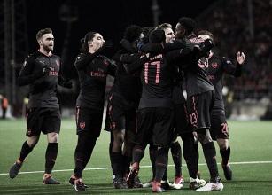 Arsenal joga para o gasto, faz três no Ostersunds e se aproxima das oitavas da Europa League
