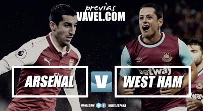 Marko Arnautovic e Nacho Monreal durante la sfida d'andata. | West Ham United, Twitter.