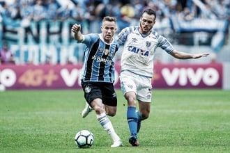 """Jogadores gremistas lamentam chances desperdiçadas ante Avaí: """"Procuramos o gol o jogo todo"""""""