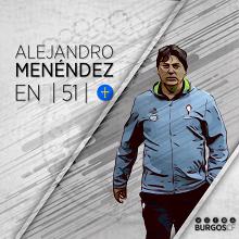 Alejandro Menéndez, nuevo entrenador del Burgos CF