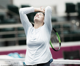 WTA Tianjin: Aryna Sabalenka storms into her first WTA final with win over Sara Errani