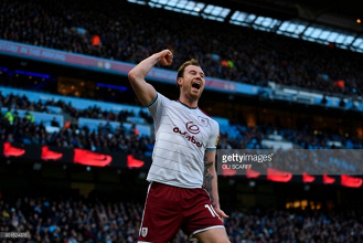 "Ashley Barnes claims Burnley ""finished after 10 minute spell"" against Manchester City"