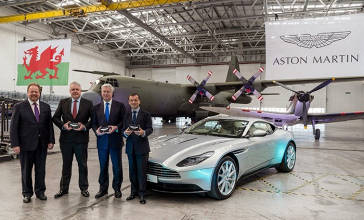 Aston Martin pronta ad entrare in F1