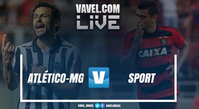 Resultado Atlético-MG x Sport no Campeonato Brasileiro 2017 (2-2)