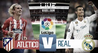 Atletico Madrid-Real Madrid in diretta, LIVE Liga 2017/2018: una città da dividere in due (0-0)