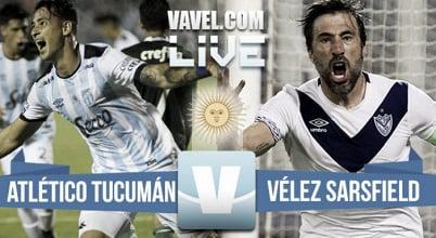 Atlético Tucumán vs Vélez Sarsfield en vivo online por el torneo de Primera División