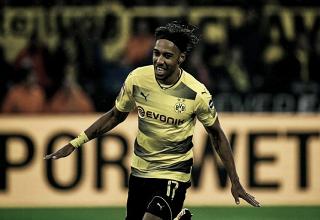 Borussia Dortmund amassa Colônia com dois de Aubameyang