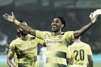 Aubameyang dá show, Dortmund não toma conhecimento e massacra Borussia M'Gladbach
