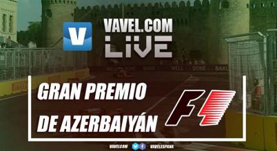 Resultados GP de Azerbaiyán de Formula 1 2017