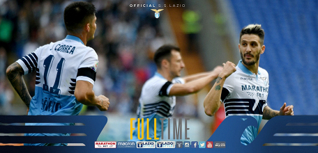 Serie A - Alla Lazio basta un tempo: battuto 4-1 il Parma