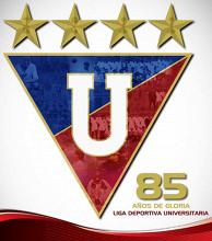 Liga Deportiva Universitaria de Quito cumple 85 años