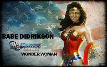 Babe Didrikson, Wonder Woman
