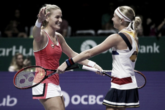 WTA Finals: Martina Hingis plays her last match as Timea Babos and Andrea Hlavackova triumphs