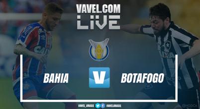 Resultado Bahia x Botafogo pelo Campeonato Brasileiro 2017 (1-2)