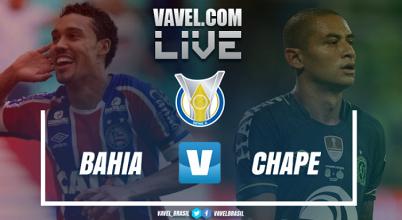 Resultado Bahia x Chapecoense no Campeonato Brasileiro 2017 (0-1)