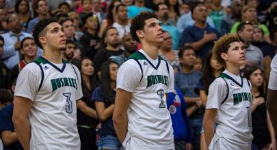 La famille Ball sur le point de conquérir la NBA