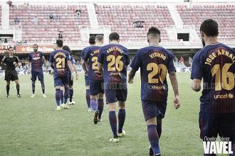 Nuevos horarios para el Barça B