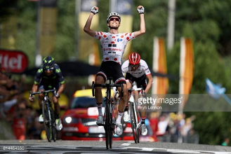 TDF 2017 stage 13 report: Barguil wins explosive stage as Aru retains yellow jersey