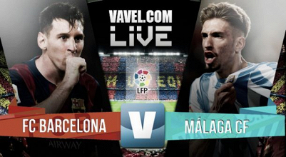 Live Liga BBVA : le match FC Barcelone - Malaga en direct