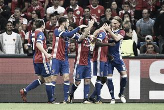 Champions League - Il Basilea espugna Mosca e va al 2° posto