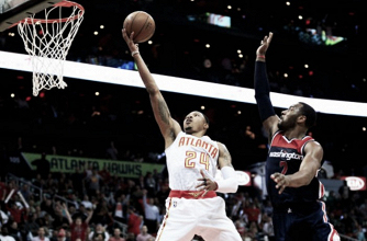 Atlanta Hawks even series with emotional 111-101 win over Washington Wizards