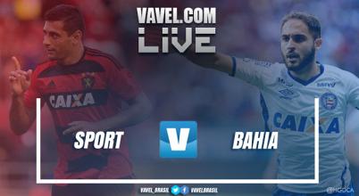 Resultado Sport x Bahia pela Copa Nordeste 2017 (1-1)