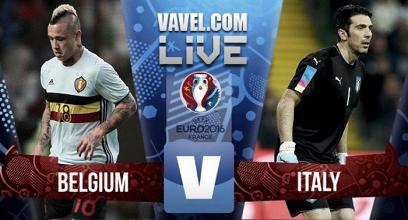 Euro 2016 :Revivez le match Belgique - Italie (0-2)