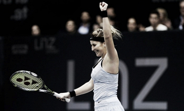 WTA Linz: Belinda Bencic ousts Lara Arruabarrena in high-quality affair