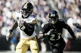 Defesa e Bell brilham, Steelers vencem Ravens e assumem liderança isolada da AFC North
