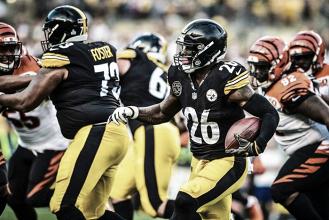 Gran actuación de Bell y segunda victoria consecutiva de los Steelers