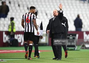 Rafa Benitez hails team performance as Newcastle's bad run comes to an end