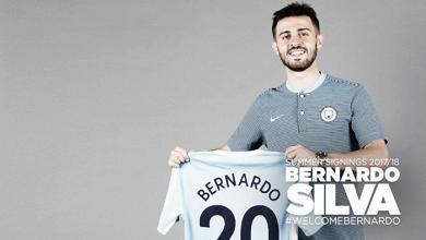 Manchester City anuncia contratação do meia Bernardo Silva, ex-Monaco