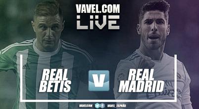 Betis vs Real Madrid en vivo y en directo online en La Liga 2018 (3-5)