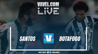 Resultado Botafogo x Santos (2-0)
