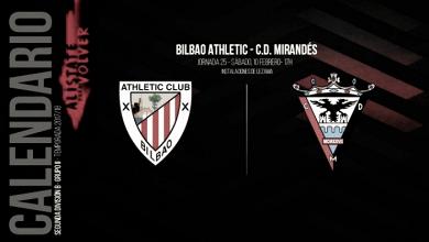 Bilbao Athletic - CD Mirandés: en busca del deseado liderato