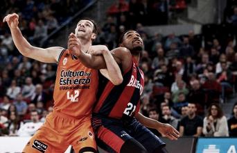 Baskonia sobrevive a la sequía para ganar a Valencia
